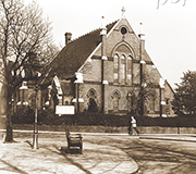 Photograph of church building in College Road