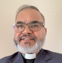 Photograph of Reverend Ajay Singh