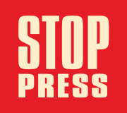 Stop press graphic